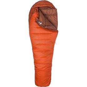 Marmot Trestles 0 Makuupussi Pitkä, orange haze/dark rust